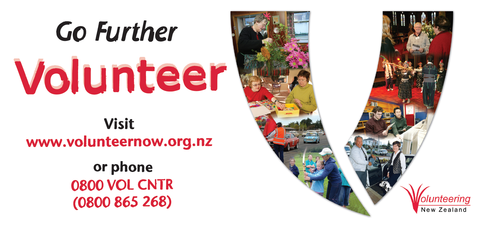 2008 - Go Further, Volunteer NVW
