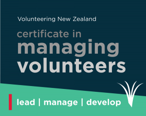 Certificate in managing volunteers