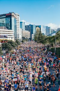 The volunteer experience during Wellington Round the Bays