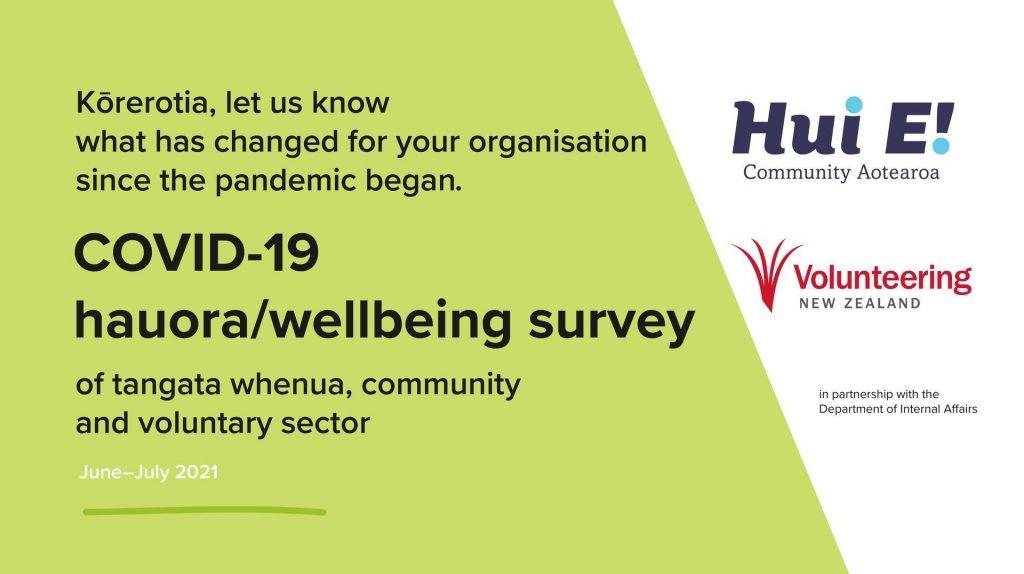 COVID-19 Hauora/wellbeing survey