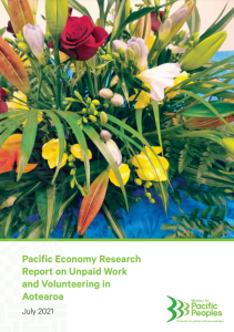 Pacific Economy Research Report on Unpaid Work and Volunteering in Aotearoa