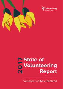 2017 State of Volunteering report