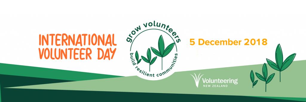 International Volunteer Day 2018
