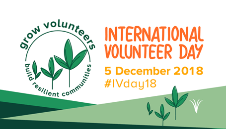 International Volunteer Day 2018