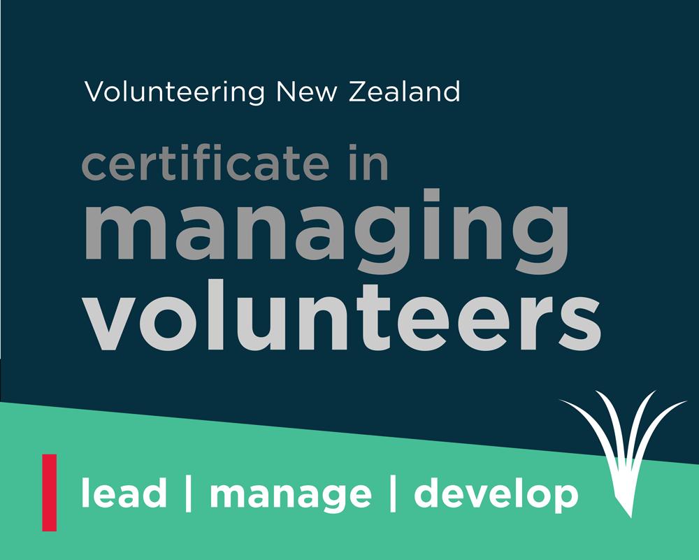 Certificate For Managers Of Volunteers Volunteering New Zealand