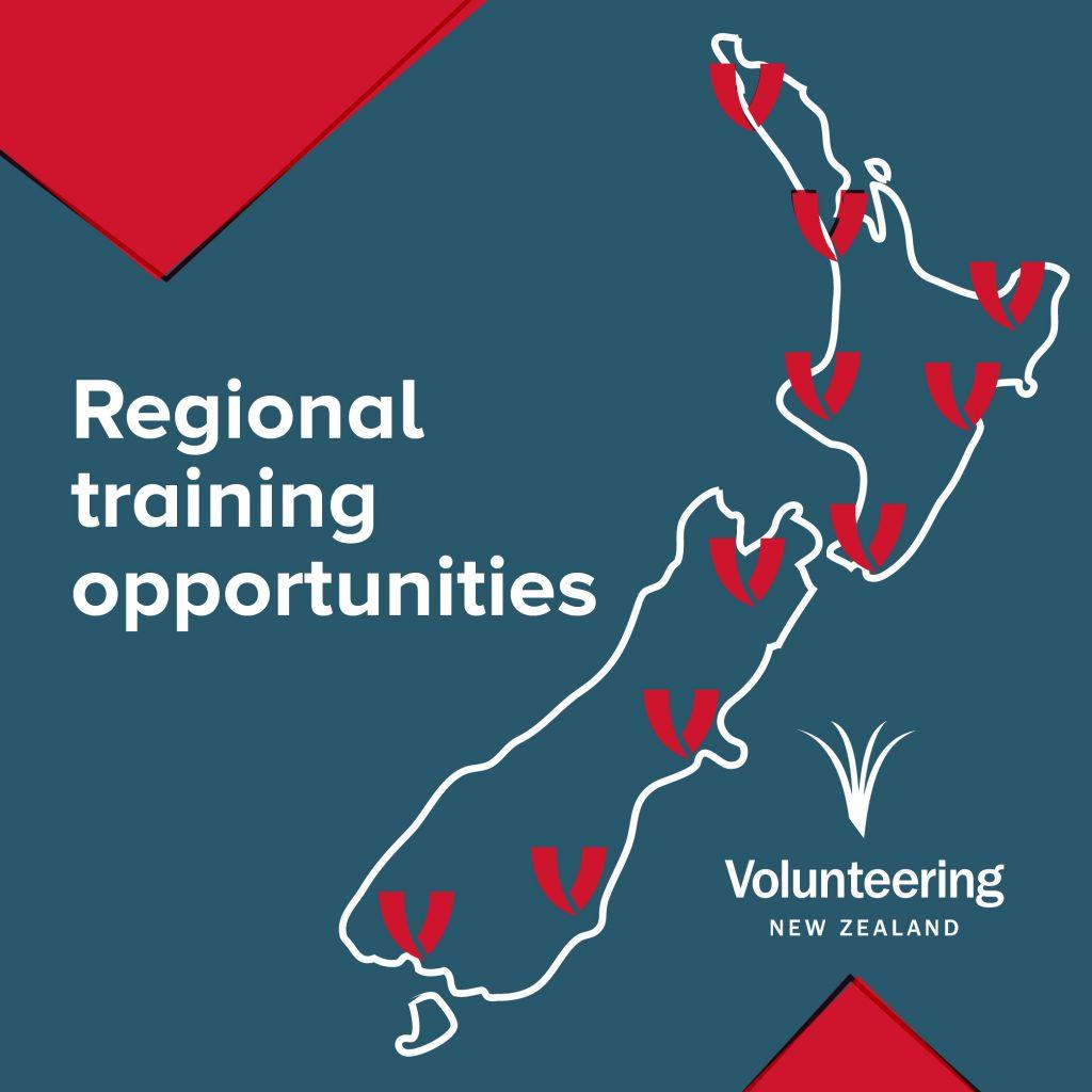 Regional training for volunteer managers